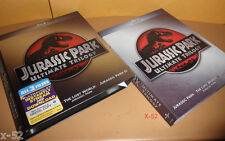 JURASSIC PARK 1 2 3 Ultimate TRILOGY set BLU-RAY spielberg JEFF GOLDBLUM t-rex