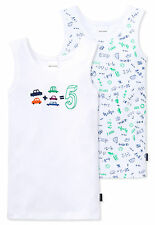 Schiesser Set Doppelpack Unterhemden Jungen Baumwolle NEU