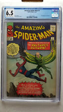 Amazing Spider-Man #7 CGC 6.5 Fine+   2nd Appearance of the Vulture