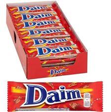 Cadbury Daim Chocolate Bar 28g x 36 (775155) Crunchy Almond Caramel