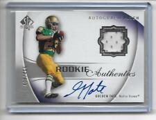"""2010 SP Authentic Golden Tate RC Auto/Game Patch/499  """"Lions"""""""