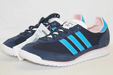 adidas originals SL72W Damen Sneakers dunkelblau schwarz Gr.36 UK3,5 Q23244