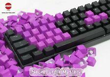 Tai-Hao TPR Rubber Gaming Backlit Double Shot 22 Keys Neon Purple