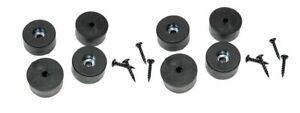 "8 Penn Elcom Speaker Amp Case Rubber Feet / Foot Bumpers 1 1/2"" X 3/4"" F1686/20"