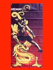 LARGE Mortal Kombat MK1 Arcade Video Game Banner Flag Poster