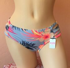NWT VICTORIA'S SECRET VS PINK Swim Strappy Low-Rise Bikini Bottom M Medium Blue