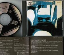 PETER GABRIEL IV JAPAN CD 32VD-1014 1986 1st issue BLACK TRIANGLE LABEL Free S&H