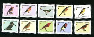 2005 ZIMBABWE - BIRDS - MNH