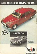 X9251 Jaguar XJ 6L POLISTIL - Pubblicità 1977 - Advertising