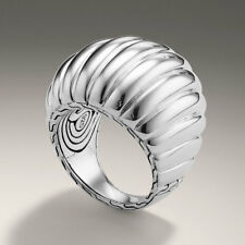 John Hardy Bedeg Large Dome Ring in Sterling Silver Size 7