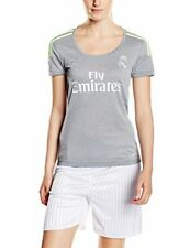 Adidas Real Madrid Away Woman Clubs L-grey / Solar Yellow