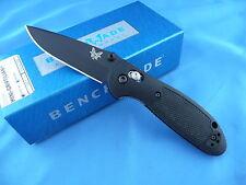 Benchmade 556BK Mini Griptilian Axis Knife Black Plain Edge