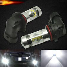 2pcs 9006 HB4 100W High Power Samsung 2323 LED Fog Light Lamp Bulb 8500K White