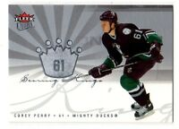 1X COREY PERRY 2005-06 Fleer Ultra Scoring Kings #SK29 RC Rookie Lots Available