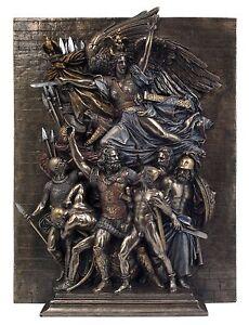 Veronese Bronze Figurine Francois Rude La Marseillaise Statue Replica Home Decor