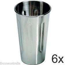 Roband Milkshake Maker 18/8 Stainless Steel 710ml Cup 6 Pack - Brand New WA132