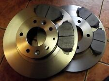 Mazda MX-5 mk3 front brake disc & pads set, MX5 NC, 2005-, 2 x discs & 4 x pads