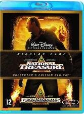 BLU RAY NATIONAL TREASURE Nicolas Cage  COLLECTOR'S EDITION nieuw neuf