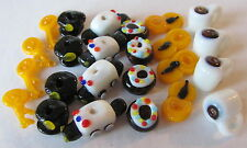 24 Policeman Police Car Doughnut Hat Handcuffs Key Lampwork Glass Beads