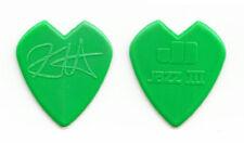 Metallica Kirk Hammett Green Heart Guitar Pick - 2009 Tour