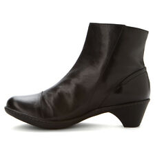 Dansko Billie Womens Black Burnished Nappa Leather Ankle Boots EU 40/US 9.5-10