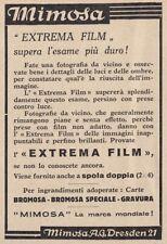 Z3964 Extrema Film MIMOSA - Pubblicità d'epoca - 1933 vintage advertising