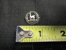 Vintage Sterling Silver Alpaca/Emu/Llama Brooch Pin .925 Unique Estate Find