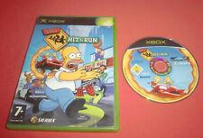 Xbox The Simpsons Hit & Run [PAL (Fr)] 1ère génération *JRF*