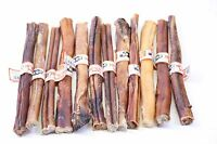 "GoGo Thick USA GIANT XL 12"" inch - Best Bully Sticks Dog Treat Chew 50 Pack"