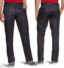 nwt~Oakley PRIME TIME PLAID Pant Golf Ohydrolix PERFORMANCE Trouser~Men sz 36/34