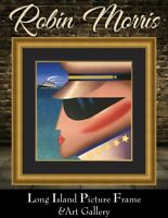 Robin Morris Pencil Signed L/ED Serigraph COMMODORE NEWLY CUSTOM FRAMED