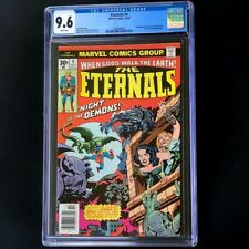 The Eternals #4 (Marvel 1976) 💥 CGC 9.6 White Pg 💥 2nd App of SERSI Rare Comic