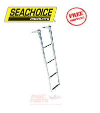 "SEACHOICE Boat Boarding Top Mount Ladder 4-STEP 46"" Length Stainless Steel 71321"