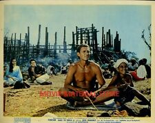 "Jock Mahoney Tarzan Goes To India Original British 8x10"" Photo #M2430"