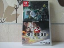 Final Fantasy VII / Final Fantasy VIII Remastered Twin Pack Switch