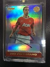 Topps Premier Gold Rio Ferdinand On card AUTO AUTOGRAPH Manchester United /150