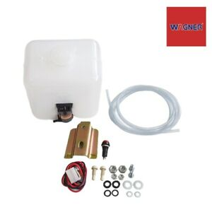 Windshield Washer Tank Bottle Motor Pump Fit ISUZU HOLDEN KB KBZ TFR Rodeo Brava