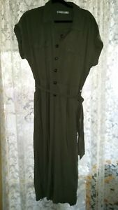 WOMAN SIZE 16 LADIES BELTED JUMP SUIT