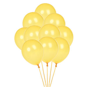 100pcs Colorful Latex Balloon 10 inch Wedding Birthday Bachelorette Party