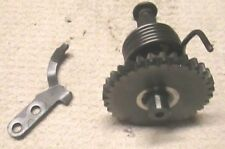 Suzuki RM100 2003 Kick Start shaft gear assembly KX100 Nice OEM PARTS AHRMA