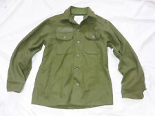 GENUINE CANADIAN MILITARY COLD WEATHER WOOL JACKET - SIZE MEDIUM - EXCELLENT -a1