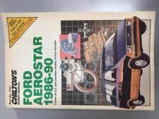 Ford Aerostar 1986-90 Chiltons Repair Manual