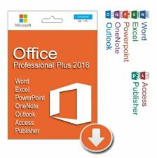 ‌‌‌‌Office 2016 Professional Plus ✅ALL Language ✅DVD-ESD Activation Key LifeTime
