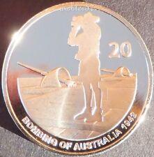 ** 2012 Bombing of Australia 20 cent coin UNC Specimen Quality**