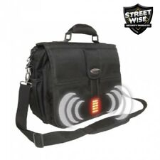 BULLETPROOF Laptop Bag w/Alarm 120dB Siren High Intensity Strobe-Streetwise iSAF