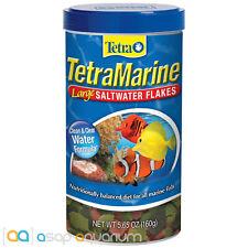 Tetra Marine Large Saltwater Flakes 5.65oz (160g) Fish Food Clean Water Formula