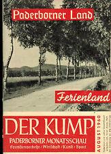 Der Kump, Paderborner Monats-Schau, Paderborn August 1960, Fremdenverkehr, Kunst