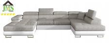 Corner sofa bed --- RODIGO ---__GREY &WHITE ___FAST  DELIVERY __ HOT SALE 2020 !