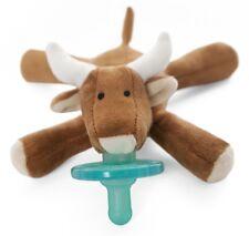WubbaNub Infant Newborn Baby Soothie Pacifier ~ Longhorn Bull