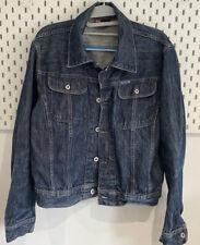 Vintage Diesel Mens Small Blue Denim Jacket